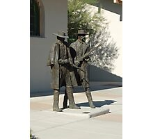 Doc Holiday and partner Photographic Print