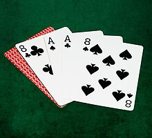 Poker Hands - Dead Man's Hand by luckypixel