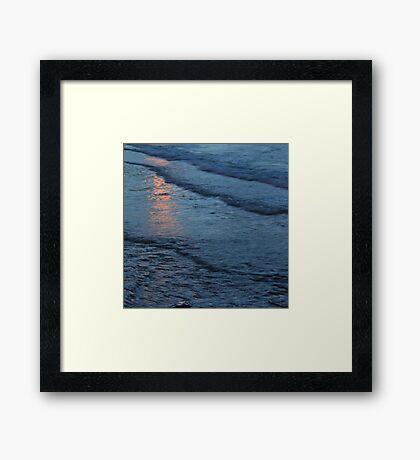 Reflections vi - digital photography Framed Print