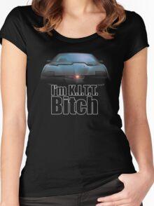 I'm K.I.T.T. B*tch Women's Fitted Scoop T-Shirt