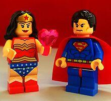 Wonder Woman Loves Superman by FendekNaughton
