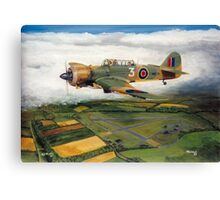 Martinet Target Towing 1945 Canvas Print