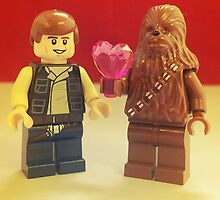 Han Loves Chewy by FendekNaughton