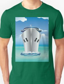 Cruise Liner in the Sea T-Shirt