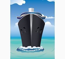Cruise Liner in the Sea 2 Unisex T-Shirt