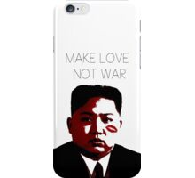 Make Love Not War iPhone Case/Skin