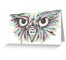 toasted_owl Greeting Card