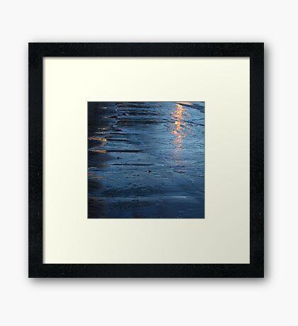 Reflections vii - digital photography Framed Print