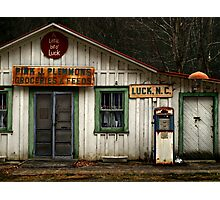 a little bit of luck Photographic Print