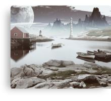 Peggy's Cove Canvas Print
