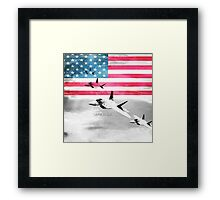 United States Air Force(USAF) Framed Print