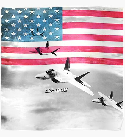 United States Air Force(USAF) Poster