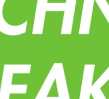 TECHNO FREAK (GREEN) Sticker