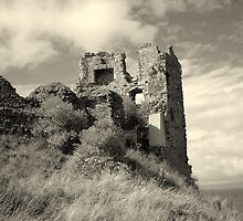 Greenan Castle by karenlynda