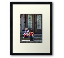 Johnny Buys Me Candy... Framed Print