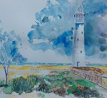Jandia lighthouse by Ivor