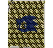Sonic and Rings Design (Black Background) iPad Case/Skin