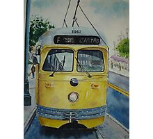 San Francisco F Line Photographic Print