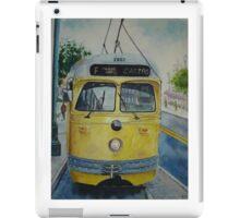 San Francisco F Line iPad Case/Skin