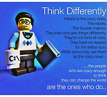 Think differently...... by Tim Constable