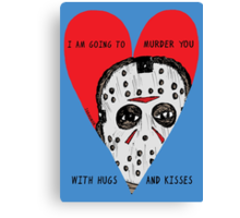 Murder Love Canvas Print