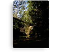 hocking hills, ohio Canvas Print