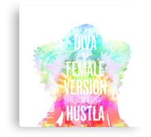 DIVA I Canvas Print