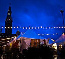 Christmas Market, Leuven by Jay Mody