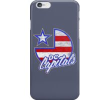 DC Capitals - Retro America iPhone Case/Skin