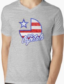 DC Capitals - Retro America Mens V-Neck T-Shirt