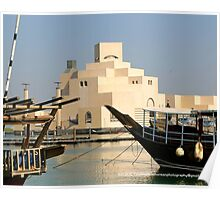 Museum of Islamic Art, Doha, Qatar Poster
