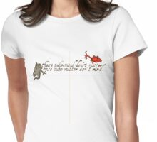 dr suess Womens Fitted T-Shirt