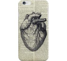 Heart on Book iPhone Case/Skin
