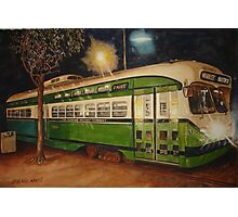SF Trolley Photographic Print
