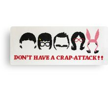 Belcher Family Crap Attack Canvas Print