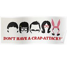 Belcher Family Crap Attack Poster