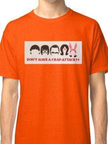 Belcher Family Crap Attack Classic T-Shirt