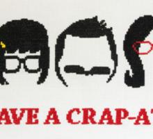 Belcher Family Crap Attack Sticker