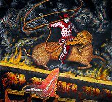 Millenium Cowboy by Larry Butterworth