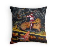 Millenium Cowboy Throw Pillow