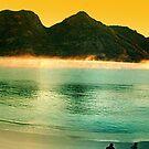 Wineglass bay sunrise panorama by Luke Meers