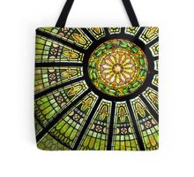 Stained Glass Dome Tote Bag