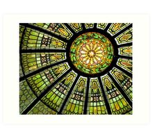 *Stained Glass Dome* Art Print