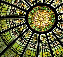 *Stained Glass Dome* by Darlene Lankford Honeycutt
