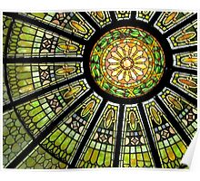 *Stained Glass Dome* Poster