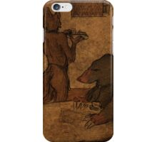At the bar iPhone Case/Skin