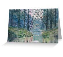 Tree Bridge Greeting Card