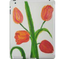 Just Tulips iPad Case/Skin