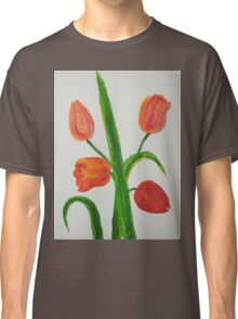 Just Tulips Classic T-Shirt