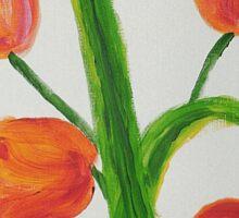 Just Tulips Sticker